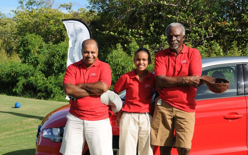 Rotary Club of Gros Islet and Audi (St. Lucia) Ltd – A Hole in One Partnership!